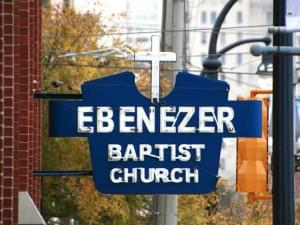 Ebenizer Baptist Church in Atlanta