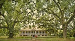 Herrenhaus der Laura Plantation in Louisiana