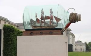 Yinka Shonibare, Nelson's Ship in a Bottle