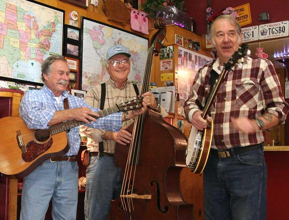 Bluegrass Session im Smoke House Galax