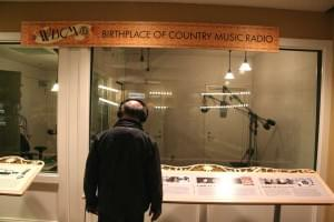 Studio des Radiosenders des Birthplace of Country Music Museum